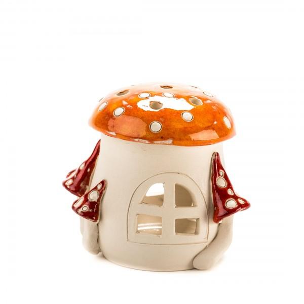 Teelichthaus Pilz Größe IV – S