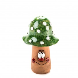 Grünen Pilz für Gartenstecker Größe M