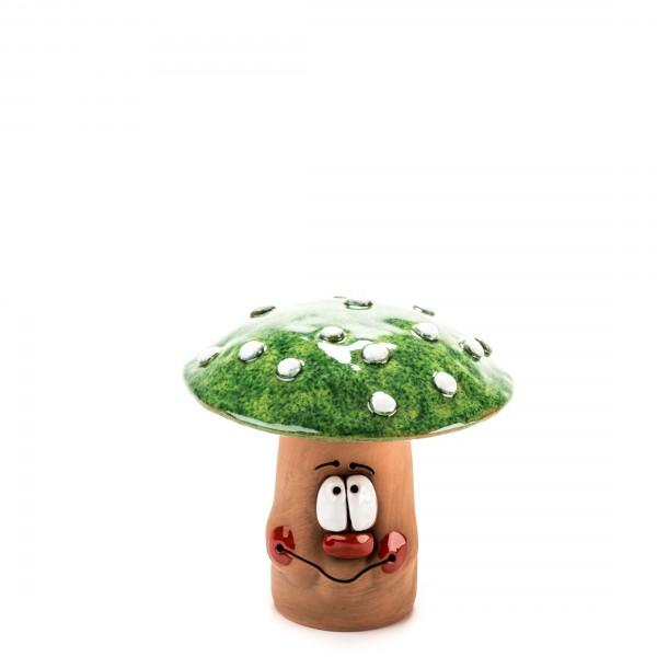 Grünen Pilz für Gartenstecker II Größe S.