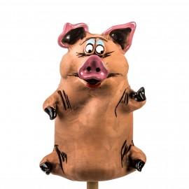 Gartenstecker Schwein