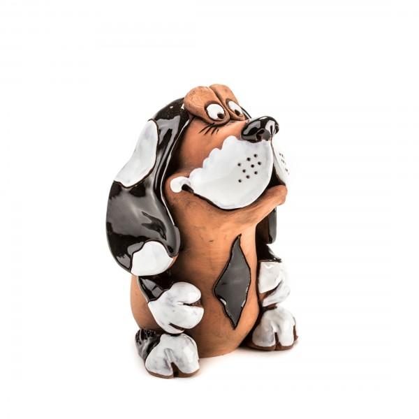 Gartenstecker Hund, Basset