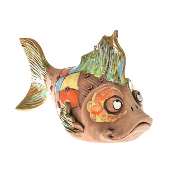 Gartenstecker Fisch