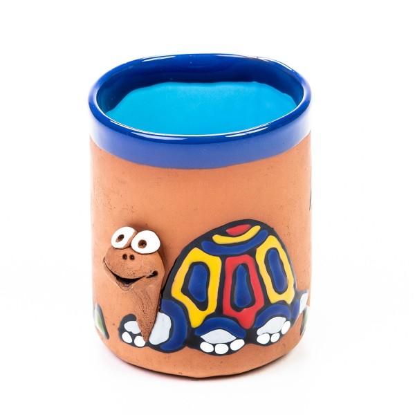 Keramiktasse Schildkröte - bunt & fröhlich (gemischte Farben)