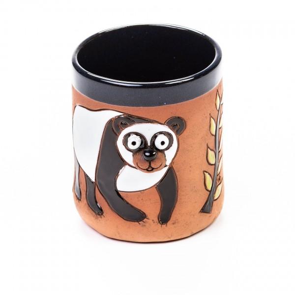 Keramikbecher Panda