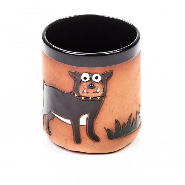 Keramikbecher Boxer