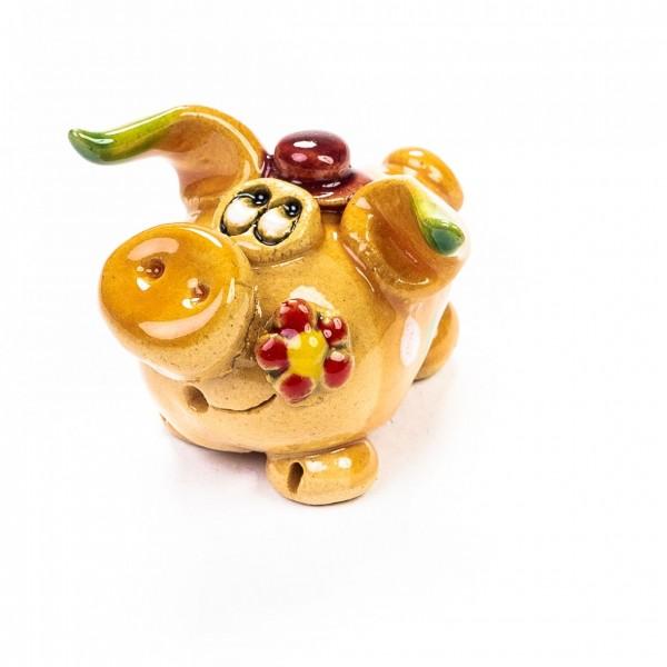 Keramik Minifigur - Herr Schwein - gemischte Farben