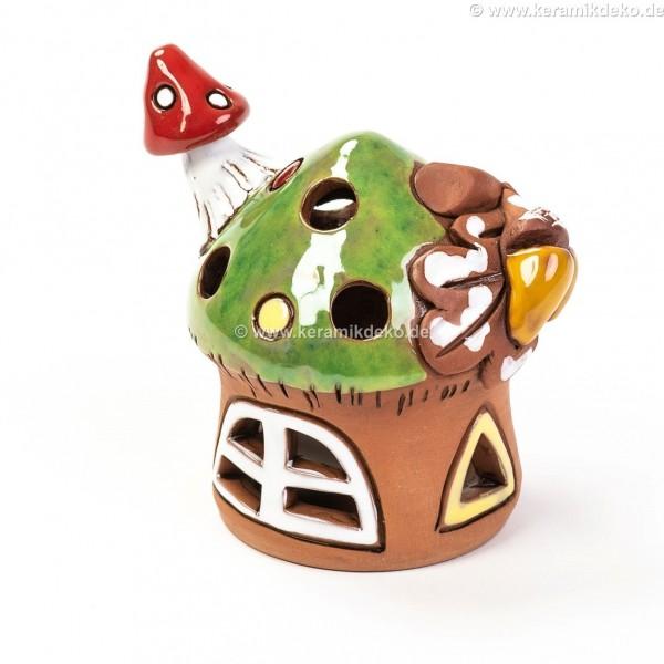 Teelichthaus für Weihnachten II – Größe S