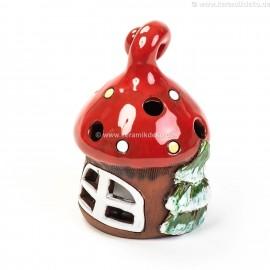 Teelichthaus für Weihnachten IV – Größe S