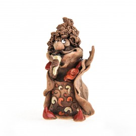 Keramikfigur Sänger