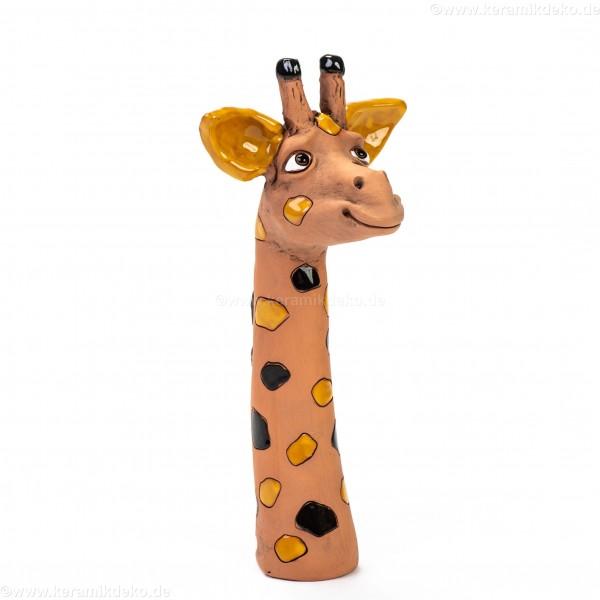Gartenstecker Mini-Giraffenkopf (dunkelbraun)