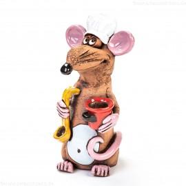Gartenstecker Gourmet-Ratte