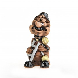 Keramikfigur Schornsteinfeger