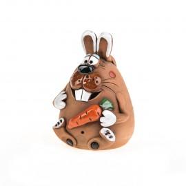 Spardose Kaninchen mit Karotte