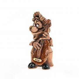 Keramikfigur Musiker