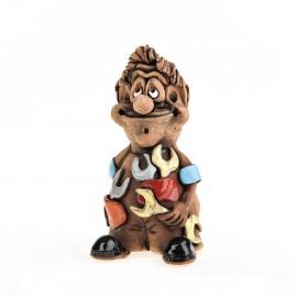 Keramikfigur Klempner