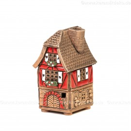 Mini Keramikhaus. Räucherhaus Nr. 10