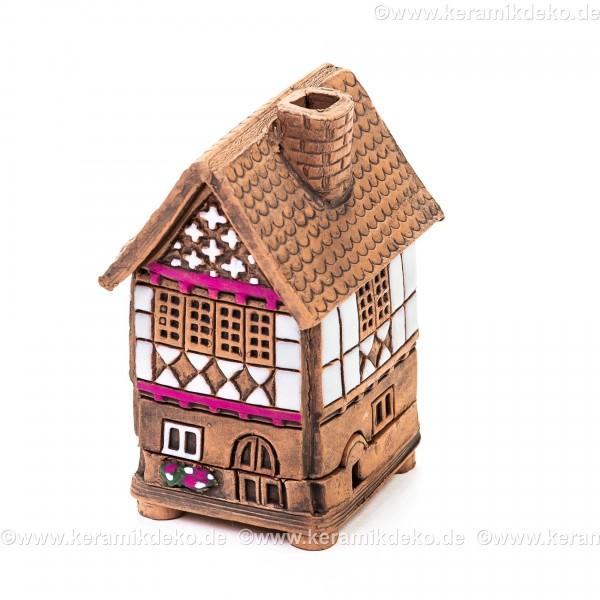 Mini Keramikhaus. Räucherhaus Nr. 1