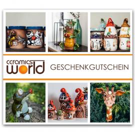 Geschenkgutschein für Keramikprodukte, 100 Euro