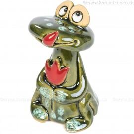Keramik Minifigur - Frosch - gemischte Farben