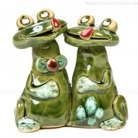 Frosch-Pärchen. Minifigur.