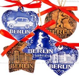 Keramikset 29 (6-tlg.) Berlin-Christbaumschmuck