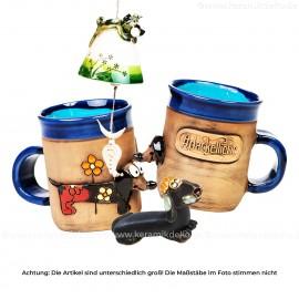 Keramikset 18 (3-tlg.) Hund: Glocke, Tasse und Minifigur