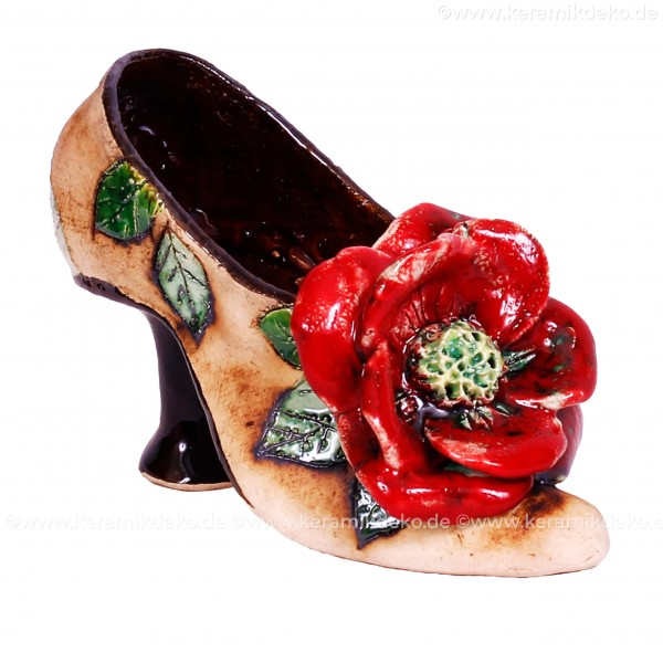 Blumentopf Damenschuh IV – Größe S