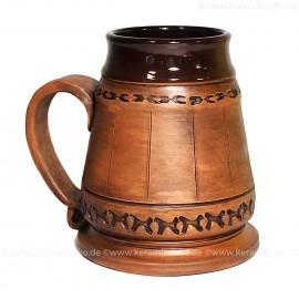 Keramik-Maßkrug 1l
