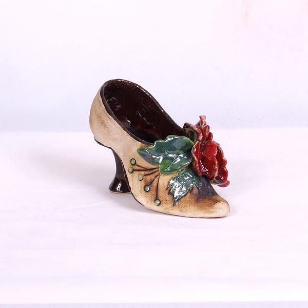 Blumentopf Damenschuh II – Größe S
