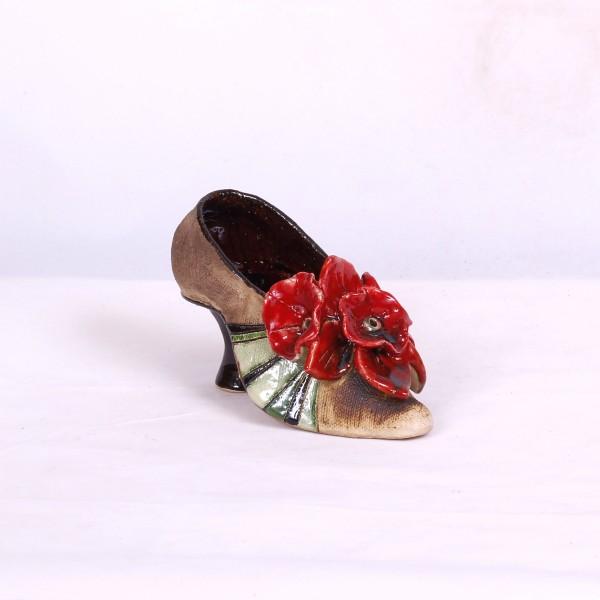 Blumentopf Damenschuh III – Größe S