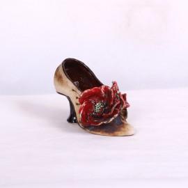 Blumentopf Damenschuh V – Größe S