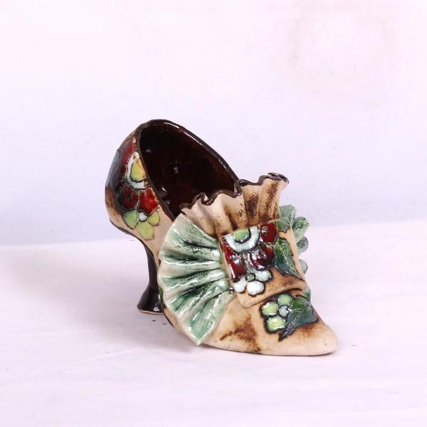 Blumentopf Damenschuh II – Größe M