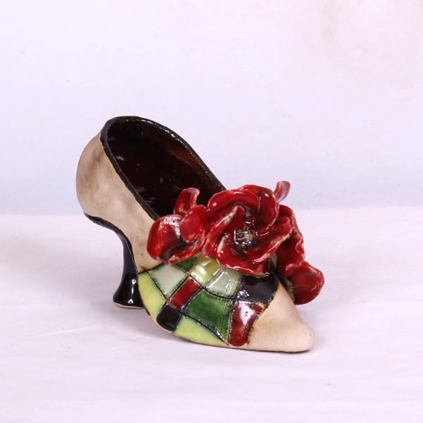 Blumentopf Damenschuh III – Größe M