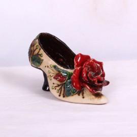 Blumentopf Damenschuh VI – Größe M