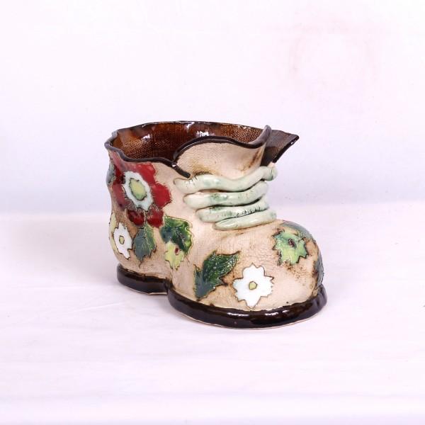 Blumentopf Herrenschuh I – Größe M