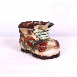 Blumentopf Herrenschuh III – Größe M