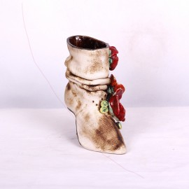 Blumentopf Damenstiefel I