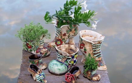 Keramik Blumentopf