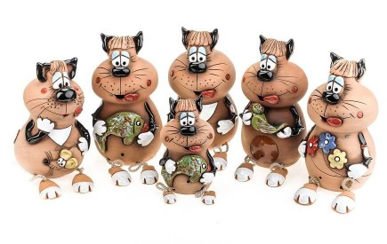 Katze Gartenstecker