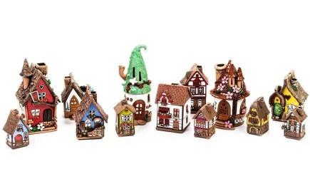 Teelichthalter, Duftstövchen, Räucherhaus
