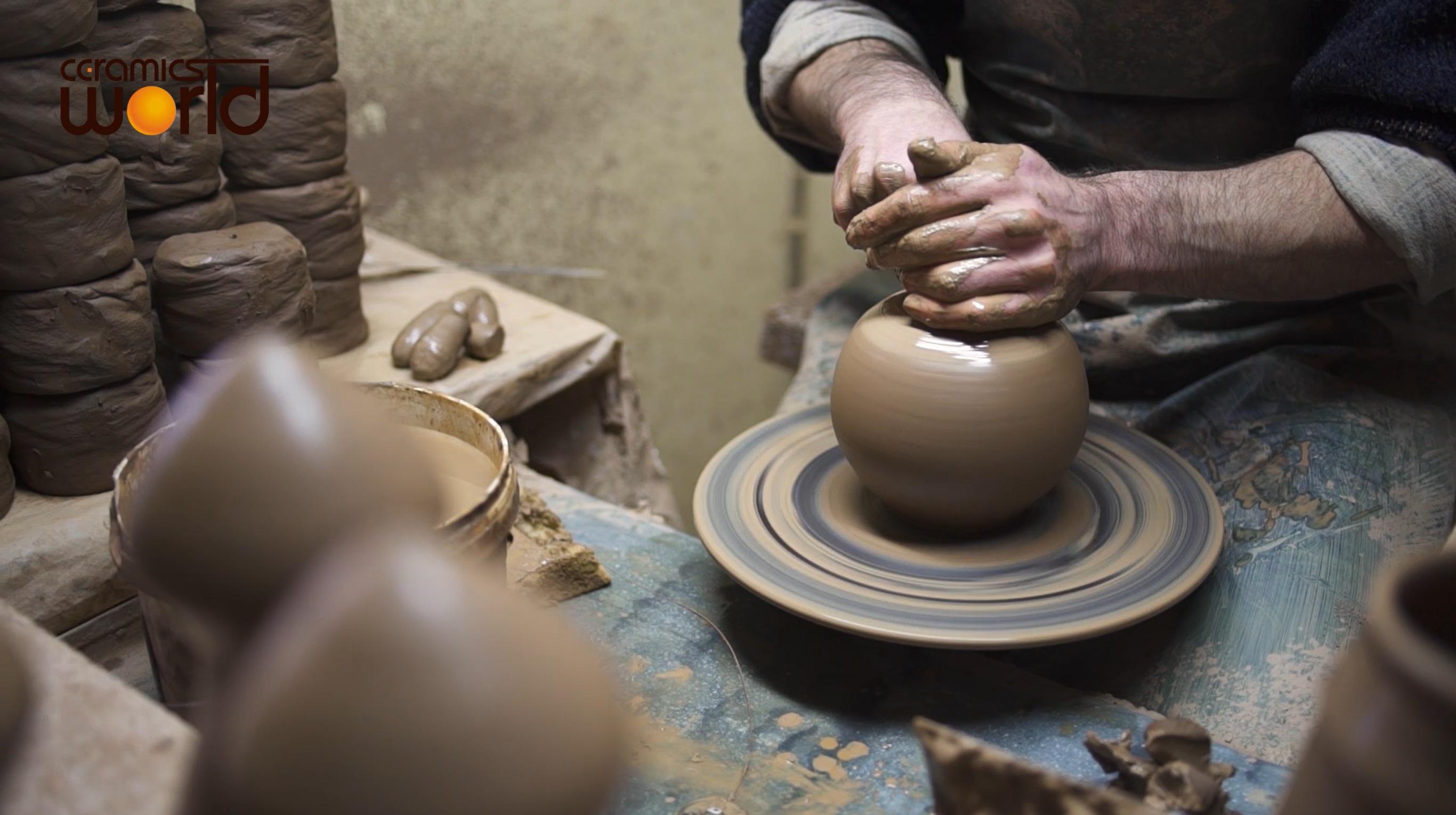 Keramikverarbeitung
